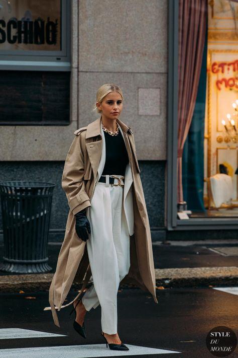 Milan Fashion Week Street Style, Look Street Style, Casual Street Style, Street Style Looks, Street Chic, Street Style Women, Fashion Street Styles, Winter Street Styles, Winter Fashion Street Style