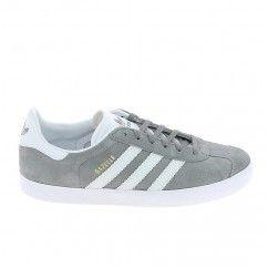 ADIDAS Gazelle Jr Gris Or | Adidas gazelle, Chaussure enfant ...