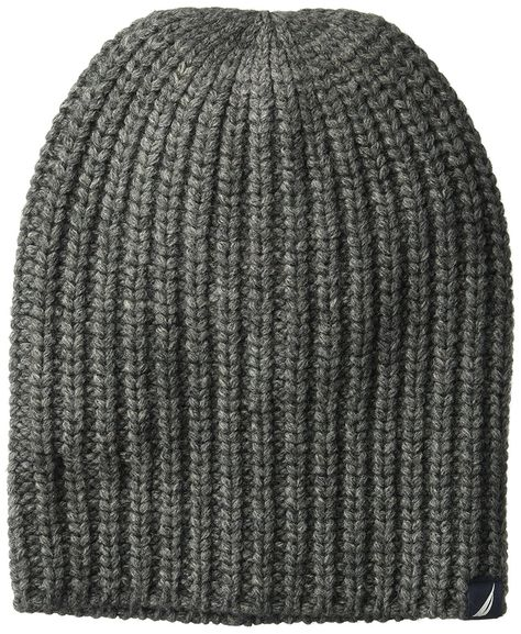 b8d9023eeaa Men s Ribbed Cuff Hat With Logo Tab - Granite Heather - CX186NXUC3R ...
