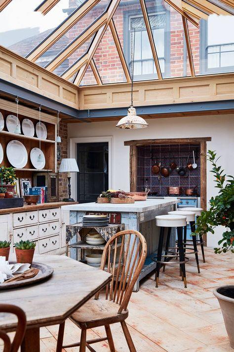 Interior Design Kitchen, Home Design, Italian Interior Design, Interior Designing, Design Ideas, Design Design, Glass House Design, Interior Livingroom, French Interior