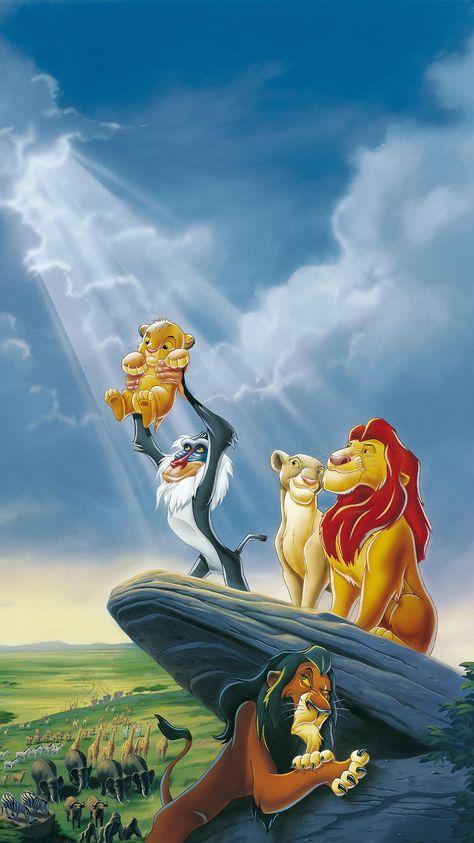 The Lion King (1994) Phone Wallpaper | Moviemania
