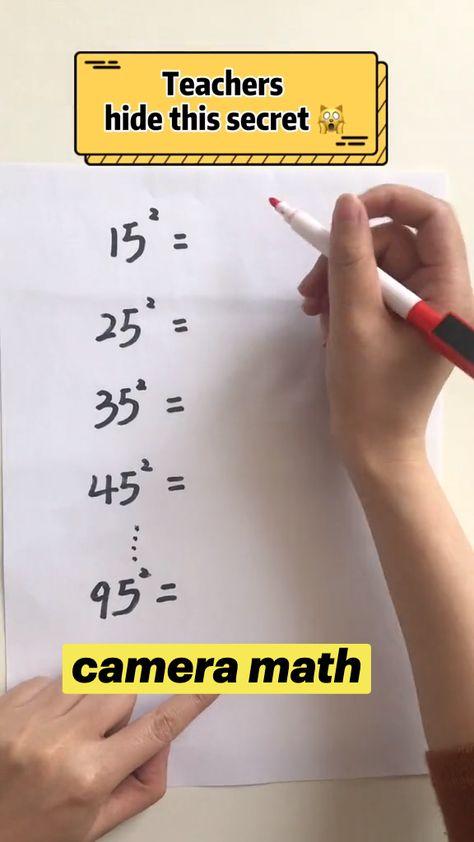 Math Trick! Do u know that?#math #mathtrick #sat #fyp