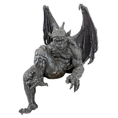 Gargoyle Shelf Sitter Statue Halloween Decoration Home Mantle Gothic Medieval Gothic Gargoyles Gargoyles Statue