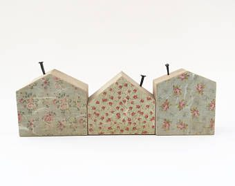 Etsy Your Place To Buy And Sell All Things Handmade Wooden House Decoration Wooden Gifts Small Wooden House