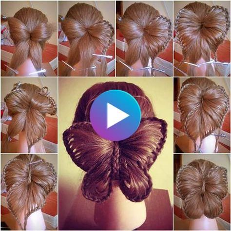 Step By Step Butterfly Braid Hairstyle 2020 In 2020 Butterfly Braid Braided Hairstyles Braided Hairstyles Tutorials
