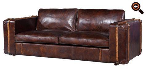 Couch design klassiker  Chesterfield Sofa aus Leder - Couch, Ecksofa & Sessel als Design ...