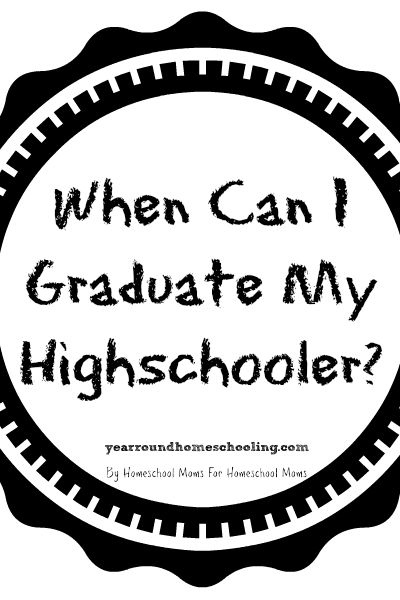 157 best homeschooling high school images on pinterest high school when can i graduate my highschooler fandeluxe Images