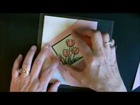 Diamond Gate Fold Card with Deb Valder