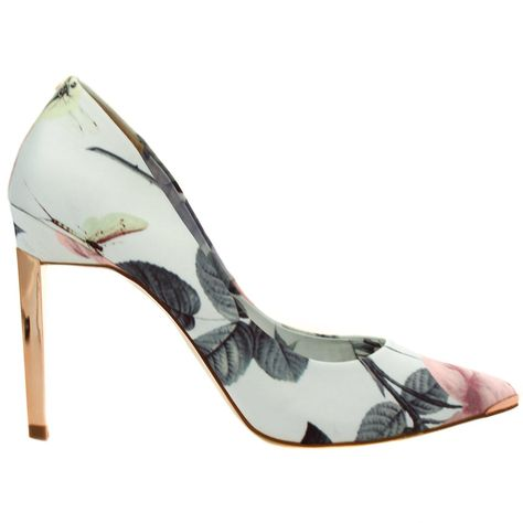 d25d968e61def2 Ted Baker Womens Distinguishing Rose Adecyn Court Shoes