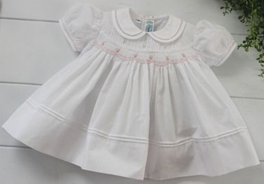 14++ Newborn smocked dress information