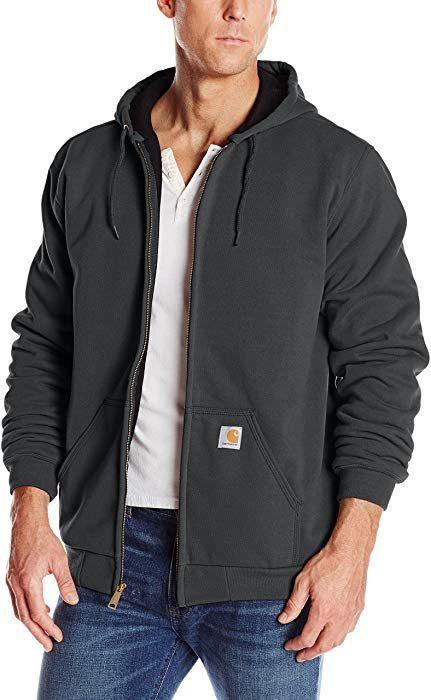 8215b3671 Amazon.com: Carhartt Rutland Thermal-Lined Hooded Zip-Front ...