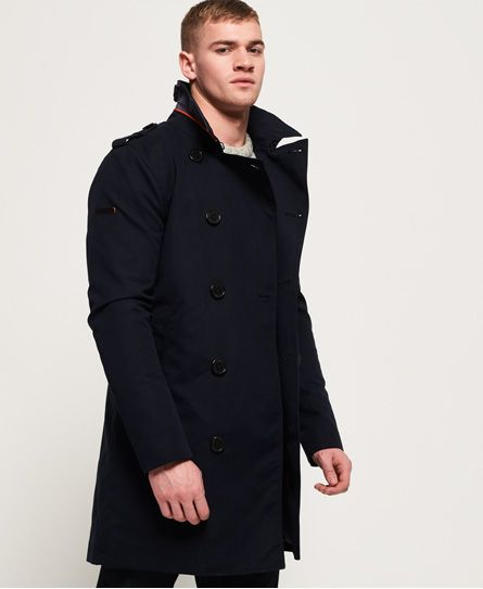 Superdry Trench Summer Rogue | Denim trench coat, Classic