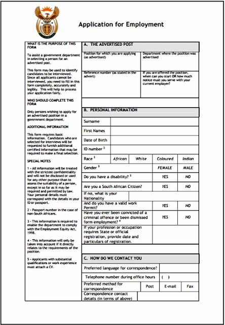 Employment Application Form Doc Inspirational Z83 Form For
