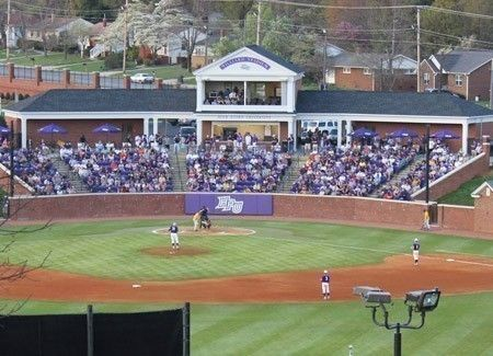 High Point Panthers Mobile Williard Stadium Stadium College Baseball Natural Grass