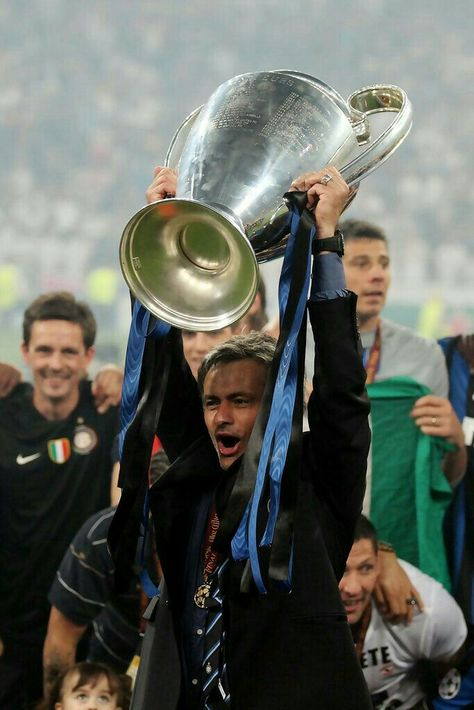 Jose Mourinho Champions League with inter