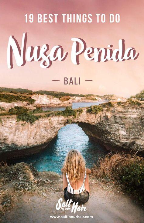 19 x Things you MUST DO on Nusa Penida    Things to do Nusa Penida   Bali   Kelingking   Angel's Billabong   Atuh Beach   Diamond Beach   #bali #nusapenida #indonesia