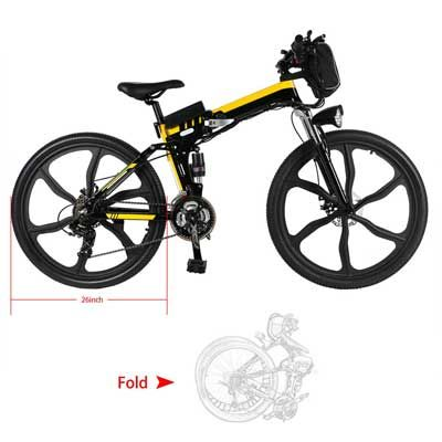 Top 10 Best Folding Mountain Bikes In 2020 Reviews Mountain