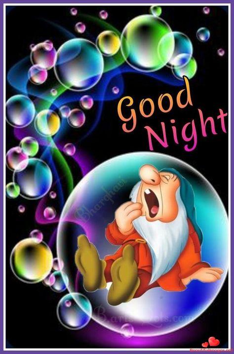 Good Night Cartoon : night, cartoon, Night, Disney, Ideas, Night,, Quotes,