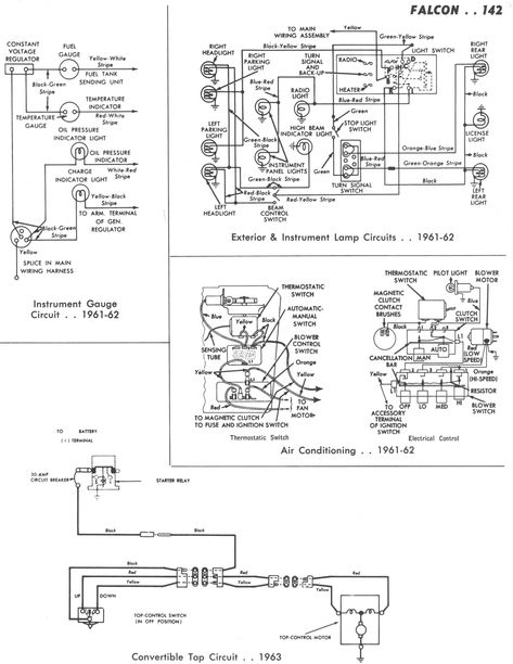 New Wiring Diagram Ford Falcon Au Radio Con Imagenes