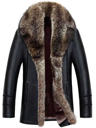 hochwertige leder jacken winterjacke