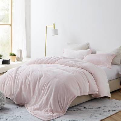 Harlow Single Reversible Duvet Cover Comforter Sets Pink