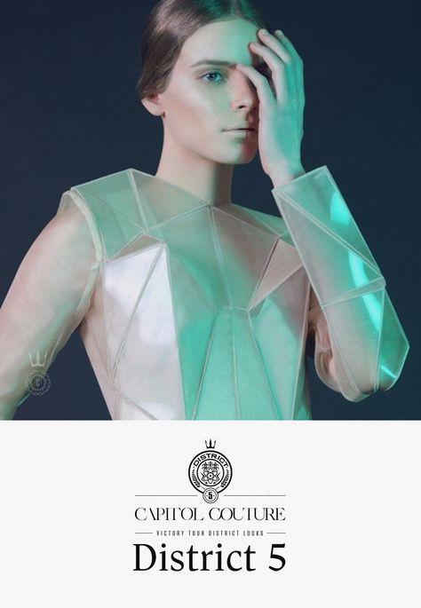 Capitol Couture distict 5 - #HungerGames