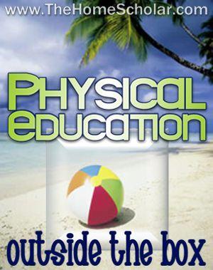 Homeschool PE: Outside the Box Options | The HomeScholar