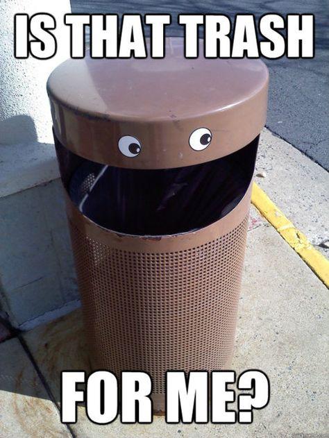 13 Cool Trash Cans Ideas Trash Cans Trash Canning
