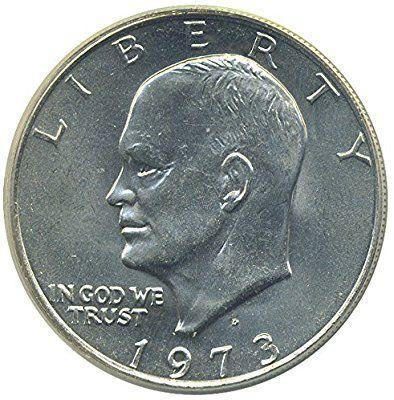 Amazon Com 1 U S Eisenhower Ike 1 Dollar Coin 1971 To 1978 Collectors Coin Toys Games Dollar Coin Coins Coin Collecting