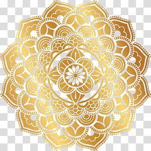 Gold Mandala Sticker Motif Pattern Gold Retro Pattern Transparent Background Png Clipart Kartu Pernikahan Kartu Pernikahan