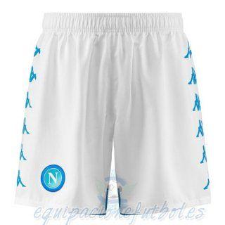 Casa Pantalones Napoli 2018 2019 Blanco equipacionefutbol   Calcio ...