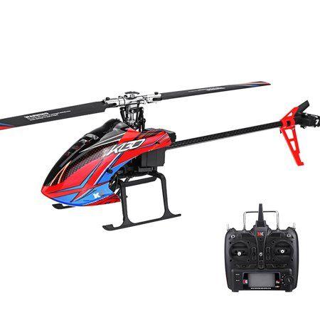 XK K120 Shuttle 6CH Brushless 3D6G System RC Helicopter RTF
