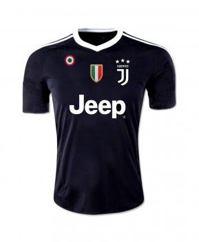 wholesale dealer 093a3 01da2 2017 Goalie Jersey Juventus Replica Black Shirt [BFC218 ...