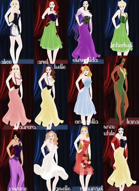 pin up princesses. by mindless-dreamin on DeviantArt