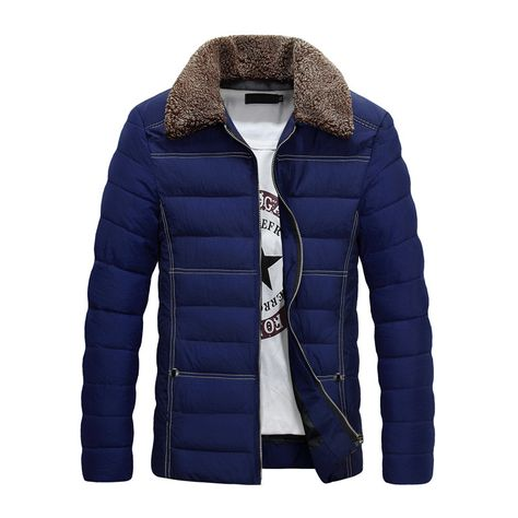 Winter Jacket Trend to Navy BuyNew Click Blue MenBoy tCxhrsQd