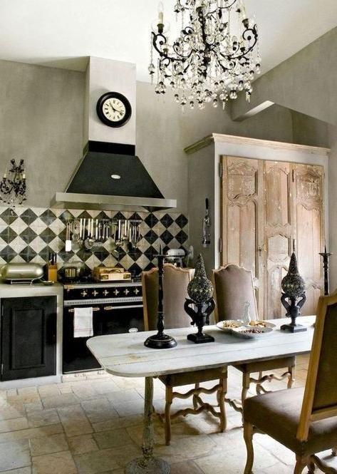Superbe Cuisine Francaise Decor Idees Designs De Cuisine De La Campgne Cuisine Campagne Cuisines De Campagne Francaise
