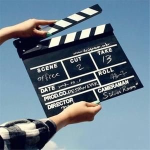 1 x Director Video Clapboard. It is made of solid wood and painted by hand. Photo Wall Collage, Picture Wall, Dream Life, My Dream, Film Aesthetic, My Vibe, Mood, Future Career, Belle Photo