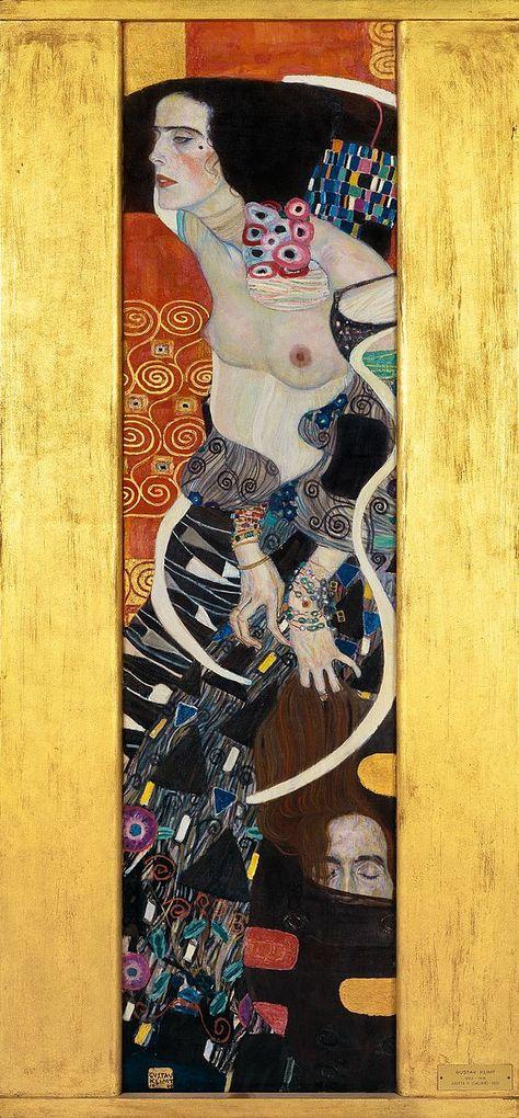 File:Gustav Klimt, Judith II.jpg   Coven Tattoo   Pinterest ...