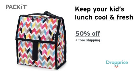 Help Me Drop The Price Of The Packit Freezable Lunch Bag To 9 99