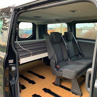 Movovan Ausbau Eine Flexible Campinglosung Fur Den Ford Transit Custom Oder Tourneo Custom Ford Tourneo Custom Ford Transit Custom Ford