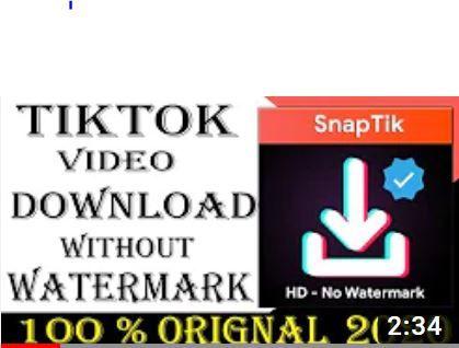 Pin On Tiktok Remove Watermark