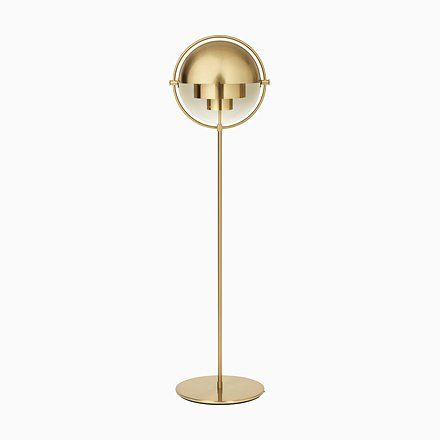 Brass Multi Light Floor Lamp By Louis Weisdorf Multi Light Floor