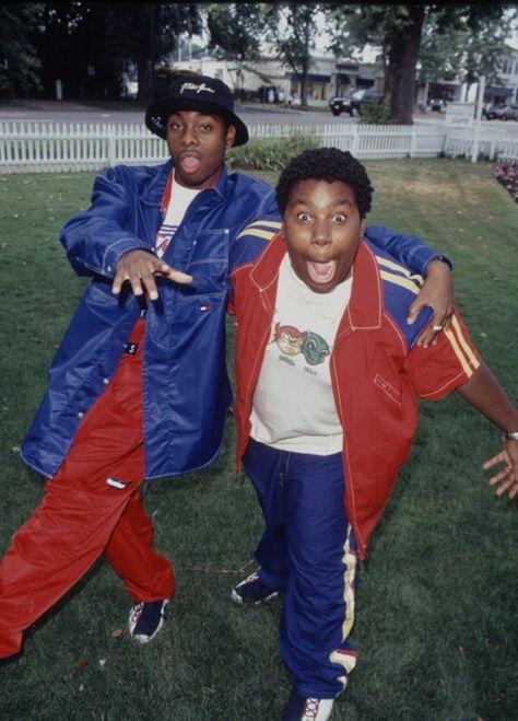 kenan y kel Prince Of Bel Air, Fresh Prince, Hip Hop Fashion, 90s Fashion, Kenan E Kel, Willian Smith, Estilo Hip Hop, 90s Hip Hop, 90s Nostalgia