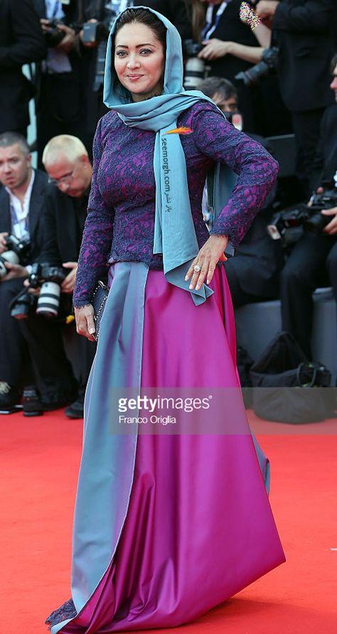 مدل لباس نیکی کریمی در هفتاد و دومین جشنواره فیلم ونیز