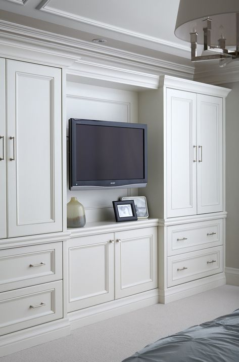 Tv Storage And Cabinetry Built In Bedroom Cabinets Bedroom