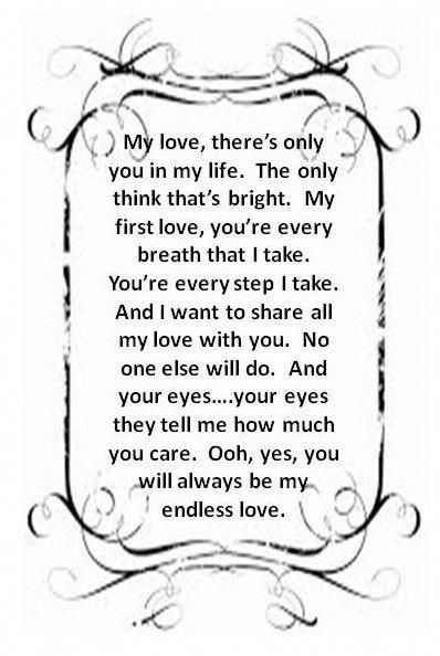 Lionel Richie Endless Love Lionelrichie Love Songs Lyrics Great Song Lyrics Endless Love Quotes