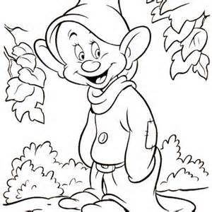 Yedi Cuceler Boyama Snow White And The Seven Dwarfs Coloring