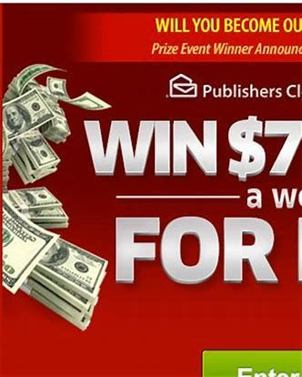 Image result for PCH 10 Million Sweepstakes Entry | Bea Sherrard in