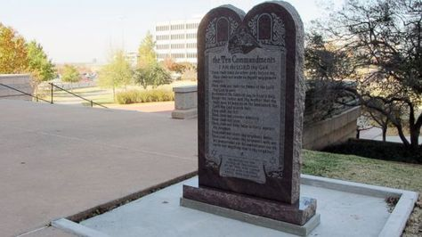 "Ten Commandments monument outside the Oklahoma state Capitol. (Sean Murphy/AP Photo) With ABC News' Anneta Konstantinides A monument to the Ten Commandments that sits outside the Oklahoma statehouse may soon have some unholy company. Satan worshipers are seeking to build their own monument at the state Capitol, and Lucien Greaves, a spokesman for the Satanic Temple, said he's ""optimistic"" it will be approved. ""I really don't see a grounds which they can reject this,"" he told ABC News. The…"