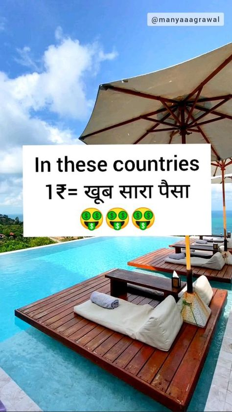countries where Indians can feel Rich